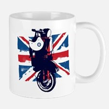 Union Jack Scooter Mugs