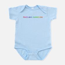 Peace Love Johnathon Body Suit