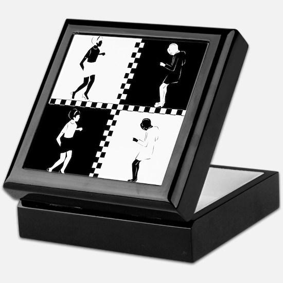 Ska Dancers Keepsake Box