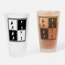 Ska Dancers Drinking Glass