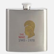 The WAC Years Flask