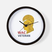 WAC Veteran Wall Clock