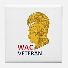 WAC Veteran Tile Coaster