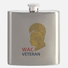 WAC Veteran Flask