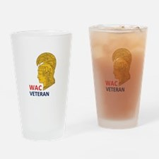 WAC Veteran Drinking Glass