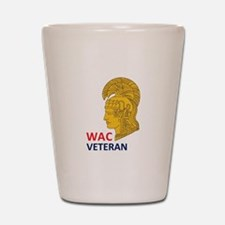 WAC Veteran Shot Glass
