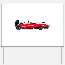Formula 1 Race Car Yard Sign