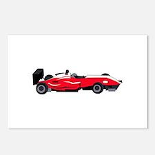 Formula 1 Race Car Postcards (Package of 8)