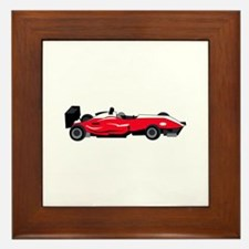 Formula 1 Race Car Framed Tile