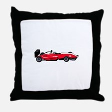 Formula 1 Race Car Throw Pillow