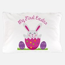 Girl's First Easter Pillow Case