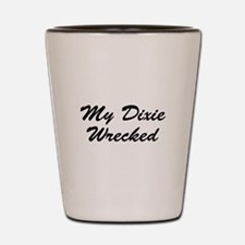 My Dixie Wrecked Shot Glass