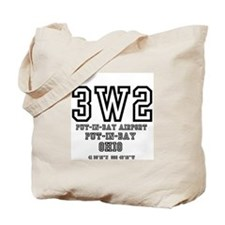 AIRPORT CODES - 3W2 - PUT IN BAY, OHIO Tote Bag