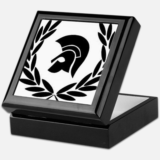 Trojan Laurel Leaf Keepsake Box