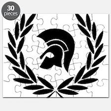 Trojan Laurel Leaf Puzzle