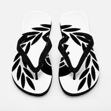Trojan Laurel Leaf Flip Flops