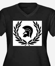Trojan Laurel Leaf Plus Size T-Shirt
