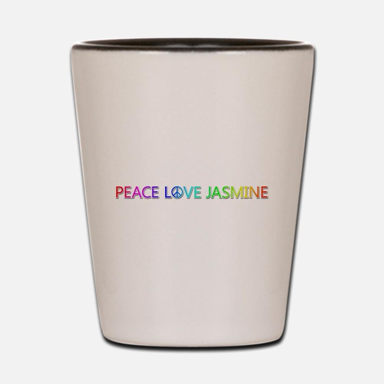 Peace Love Jasmine Shot Glass