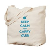 Knitting Canvas Totes