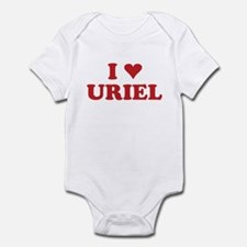 I LOVE URIEL Infant Bodysuit