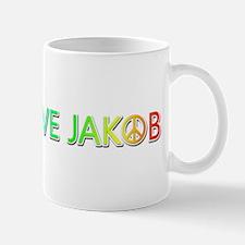Peace Love Jakob Mugs