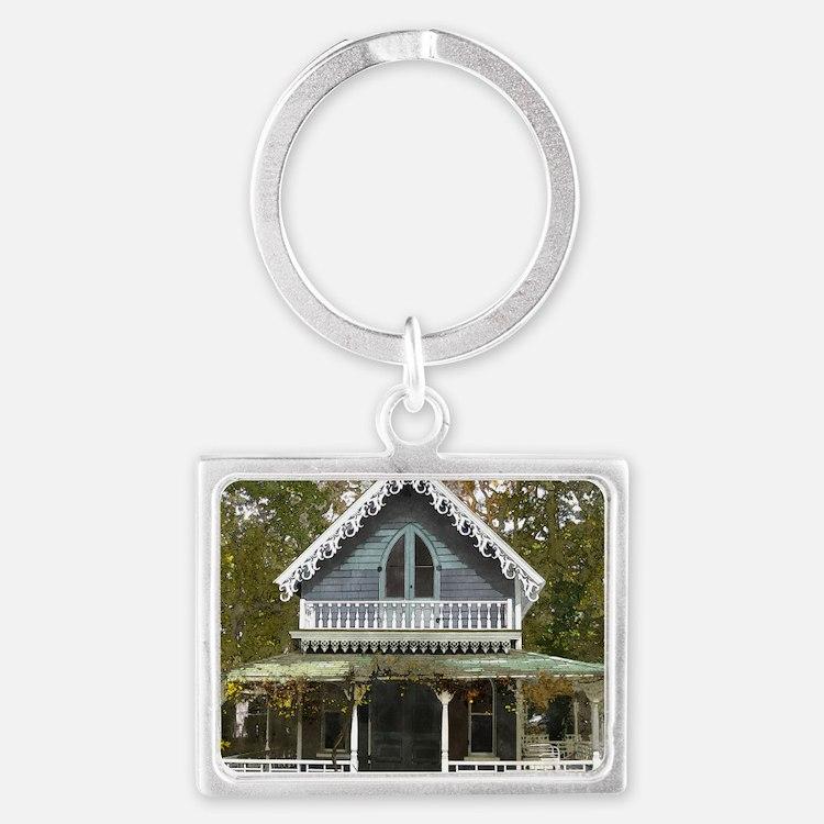 Cute Marthas vineyard Landscape Keychain