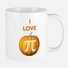 I Love Pumpkin Pi Mugs