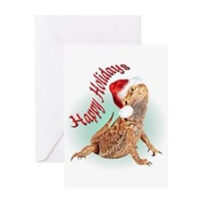 Funny Dragon christmas Greeting Card