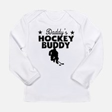 Daddys Hockey Buddy Long Sleeve T-Shirt