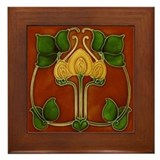 Art nouveau Framed Tiles