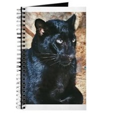 Black Leopard Portrait Journal
