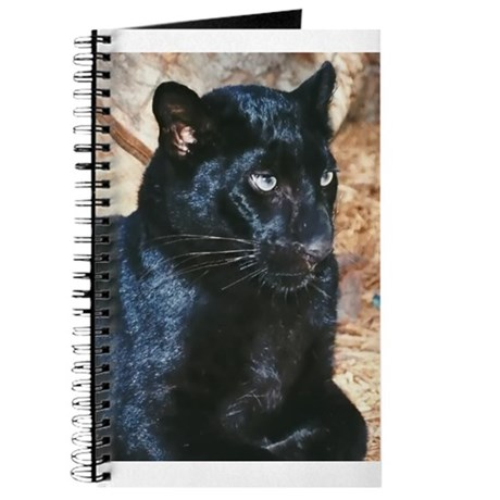 Black Leopard Portrait Journal