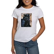 Black Leopard Portrait Tee