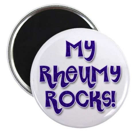 "My Rheumy Rocks 2.25"" Magnet (100 pack)"