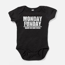 Monday Funday Baby Bodysuit