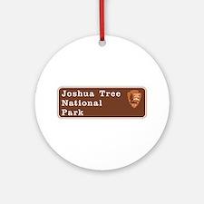Joshua Tree National Park, Californ Round Ornament