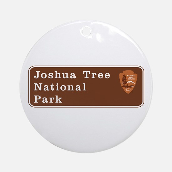 Joshua Tree National Park, Californ Round Ornament