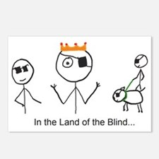 Land of the Blind Postcards (Package of 8)