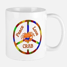 Peace Love Crab Mug