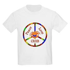 Peace Love Crab T-Shirt