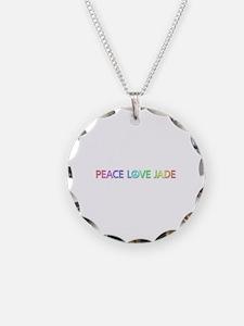 Peace Love Jade Necklace
