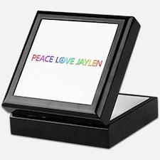 Peace Love Jaylen Keepsake Box