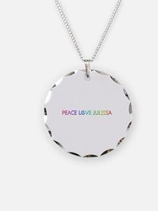 Peace Love Julissa Necklace