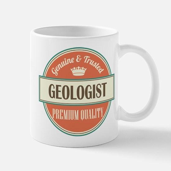 geologist vintage logo Mug