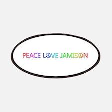 Peace Love Jamison Patch