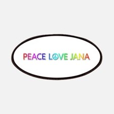 Peace Love Jana Patch