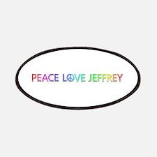 Peace Love Jeffrey Patch