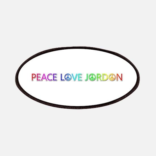 Peace Love Jordon Patch