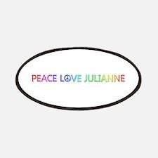 Peace Love Julianne Patch