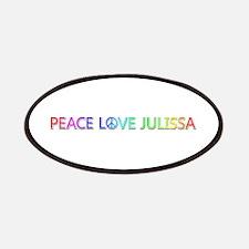 Peace Love Julissa Patch